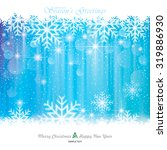 christmas background. abstract... | Shutterstock .eps vector #319886930