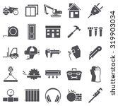 construction building icons | Shutterstock .eps vector #319903034