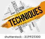 techniques word cloud  business