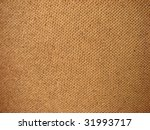 Burlap background texture - stock photo