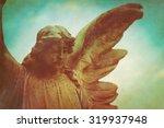 Guardian Angel Retro Grunge...
