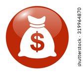money bag icon. illustration