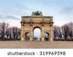 triumphal arch  arc de triomphe ... | Shutterstock . vector #319969598