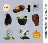 Halloween Decoration Attributes ...
