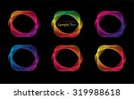 line star abstract background... | Shutterstock .eps vector #319988618