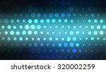 abstract blue football or... | Shutterstock . vector #320002259