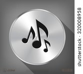 pictograph of music note   Shutterstock .eps vector #320008958