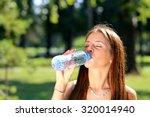 young beautiful brunette woman... | Shutterstock . vector #320014940