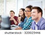education  people  friendship ... | Shutterstock . vector #320025446