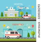 medical horizontal web banner...   Shutterstock .eps vector #320028293