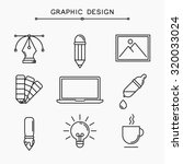 vector linear graphic design...