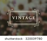vintage floral card with...