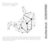 abstract vector illustration... | Shutterstock .eps vector #320040980