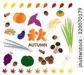 autumn food | Shutterstock .eps vector #320070179