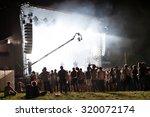 paris   aug 31  crowd in a... | Shutterstock . vector #320072174