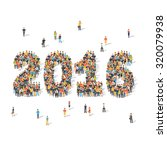 new year celebration concept.... | Shutterstock .eps vector #320079938