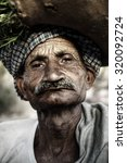indigenous senior indian man... | Shutterstock . vector #320092724