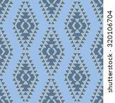 seamless vector ethnic pattern. ... | Shutterstock .eps vector #320106704