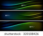 set of banner  header... | Shutterstock .eps vector #320108426