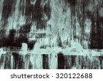 abstract art wall advertising... | Shutterstock . vector #320122688