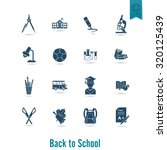 school and education icon set....   Shutterstock .eps vector #320125439