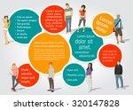 template for advertising... | Shutterstock .eps vector #320147828