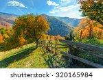 Colorful Autumn Landscape Scen...