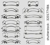 ribbons | Shutterstock .eps vector #320177486