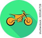 motocross motorbike background  ... | Shutterstock .eps vector #320181728