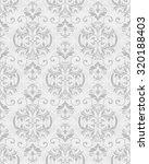 seamless victorian wallpaper | Shutterstock .eps vector #320188403