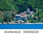 dochiariou monastery  athos... | Shutterstock . vector #320203220