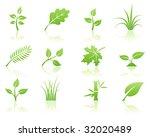 vector illustration of green... | Shutterstock .eps vector #32020489