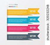 ribbon modern infographics... | Shutterstock .eps vector #320232248