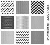 black vector simple seamless... | Shutterstock .eps vector #320247386
