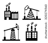 factory  industry and business... | Shutterstock .eps vector #320274560