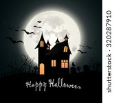 vector illustration of happy...   Shutterstock .eps vector #320287910