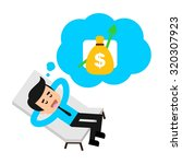 finance character logo template | Shutterstock .eps vector #320307923