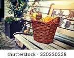 Woven Basket With Small...