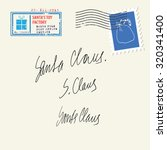 santa's signature | Shutterstock .eps vector #320341400