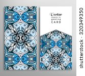 cards or invitations collection ... | Shutterstock .eps vector #320349350