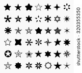 Star Icons And Pictogram....