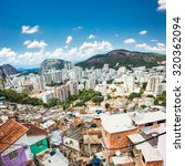 aerial view of botafogo... | Shutterstock . vector #320362094