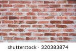 brick wall brown red background | Shutterstock . vector #320383874