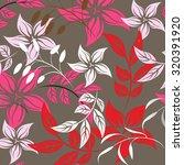 seamless flower background  ... | Shutterstock .eps vector #320391920