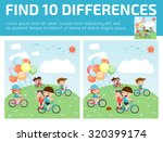 find differences game for kids  ... | Shutterstock .eps vector #320399174