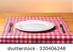 plate. | Shutterstock . vector #320406248