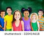 kids children diversity...   Shutterstock . vector #320414618