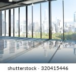 urban scene skyline morning... | Shutterstock . vector #320415446