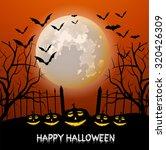vector illustration of happy... | Shutterstock .eps vector #320426309
