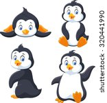 Collection Of Cartoon Penguin...